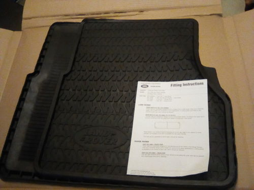RTC8098AA, Rubber Mats Set Front, Land Rover