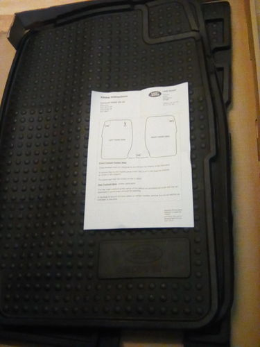 STC8188AB Set Mats Rubber (front/rear), Land Rover